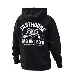 Fasthouse 805 Podium Pullover Hoodie Svart