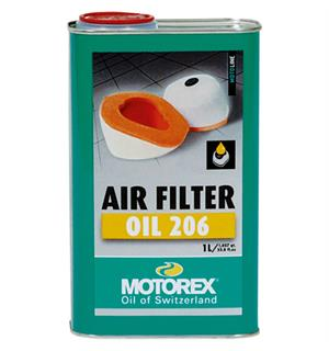 Motorex Air Filter Oil 206 - 1 Liter