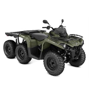 Can-Am Outlander 450 6X6 STD T 2020 Squadron Green, 60km/t