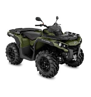 Can-Am Outlander 570 PRO+ T 2020 Squadron Green, 60km/t