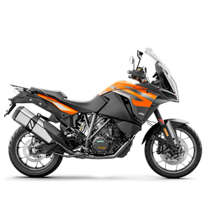 KTM 1290 Super Adventure S 2019 Orange