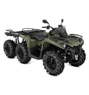 Can-Am Outlander 450 6X6 PRO+ T 2020 Squadron Green, 60km/t
