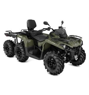 Can-Am Outlander MAX 450 6X6 PRO+ T 2020 Squadron Green, 60km/t
