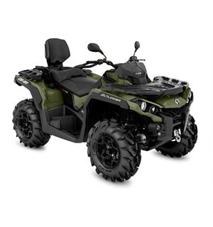 Can-Am Outlander MAX 570 PRO+ T 2020 Squadron Green, 60km/t