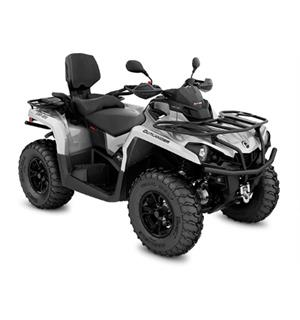 Can-Am Outlander MAX 570 XT T 2020 Mineral Grey & Octane Blue, ABS 105km/t