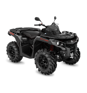 Can-Am Outlander 650 PRO+ T 2020 Can-Am Rød-Sort, 60km/t