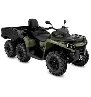 Can-Am Outlander MAX 650 6X6 PRO+ T 2020 Squadron Green, 60km/t