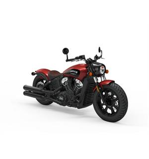 Indian Scout Bobber ICON 2019 Ruby Metallic w/ABS