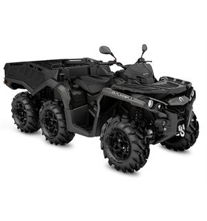 Can-Am Outlander 1000 6X6 PRO+ T 2020 Pure Magnesium, 60km/t