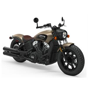 Indian Scout Bobber ICON 2019 Deep Brass Smoke w/ABS