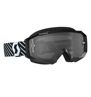 Scott Hustle MX Brille - Sort/Hvit Light Sensitive Works Linse