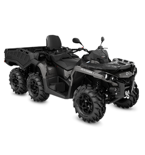 Can-Am Outlander MAX 1000 6X6 PRO+T 2020 Pure Magnesium, 60km/t
