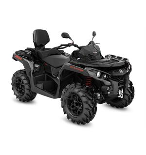 Can-Am Outlander MAX 650 PRO+ T 2020 Can-Am Rød-Sort, 60km/t
