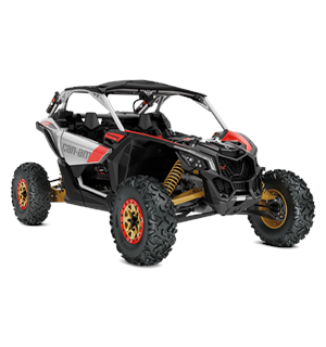 Can-Am Maverick X RS 903 TCIC 2019 Hyper Silver-Liquid Gold-Can-Am Red