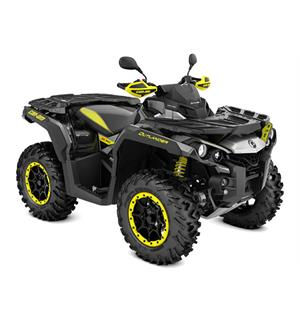Can-Am Outlander 1000 X XC T 2020 Timeless Black-Hyper Silver, ABS 105km/t