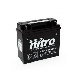 Nitro 51913 SEALED AGM GEL Batteri