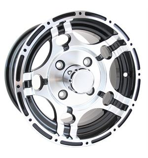 TOPRIMS - 12x7 4/137 +10 2-Farget 2-farget ATV felg Can-Am